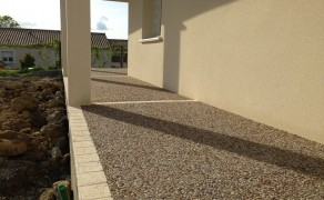 Béton désactivé à Lavaud en Vendée